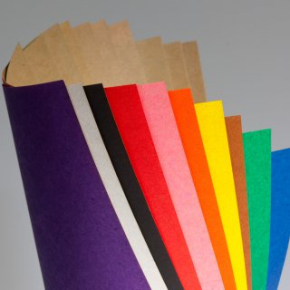 Craft-Papier in 10 Farben, 15 cm