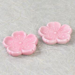 Essstabchenablagen Pink Sakura 2er Set Tischdeko 7
