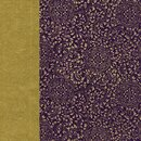 Double Color Washi Takumi Karakusa violett-gold 15 x 15...