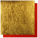Double Color Momigami gold-rot, 35 cm, 5 Blatt