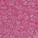 Double Color Washi Kusa pink-silber