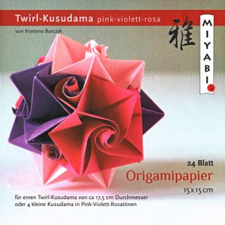 Origamipapier mit Anleitung Kieler Stern