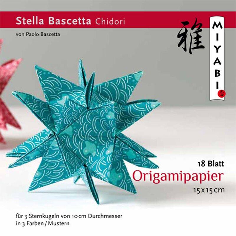 Kieler Stern Origamipapier mit Anleitung