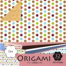 Origami-Papier Double Color Dot 15 cm